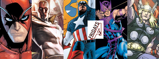 My Five Favorite Avengers: Bill Rosemann