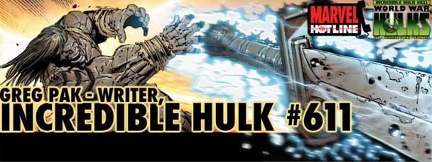 Marvel Hotline: Greg Pak