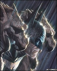 Artwork from Batman RIP. Pic: DC Comics