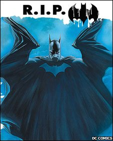 Batman RIP (image courtesy of DC comics)